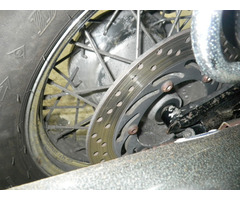 Мотоцикл круизер Yamaha Dragstar 1100 рама VP10J боковые мотосумки гв 1999