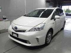 Минивэн гибрид Toyota Prius Alpha кузов ZVW41W модификация S гв 2012