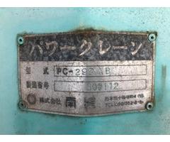 Кран манипулятор Nansei Crane PC-293 XB КМУ грузопод 3 тн стрела 3 вылета