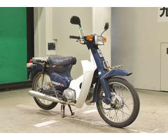 Мотоцикл дорожный Honda C50 Super Cub E рама C50 передний и задний багажник гв 1988