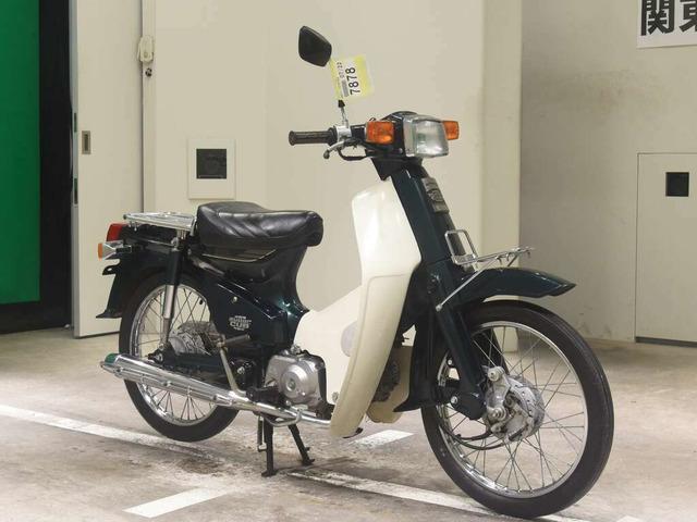 Мотоцикл дорожный Honda Super Cub E рама AA01 скутерета багажники гв 1999